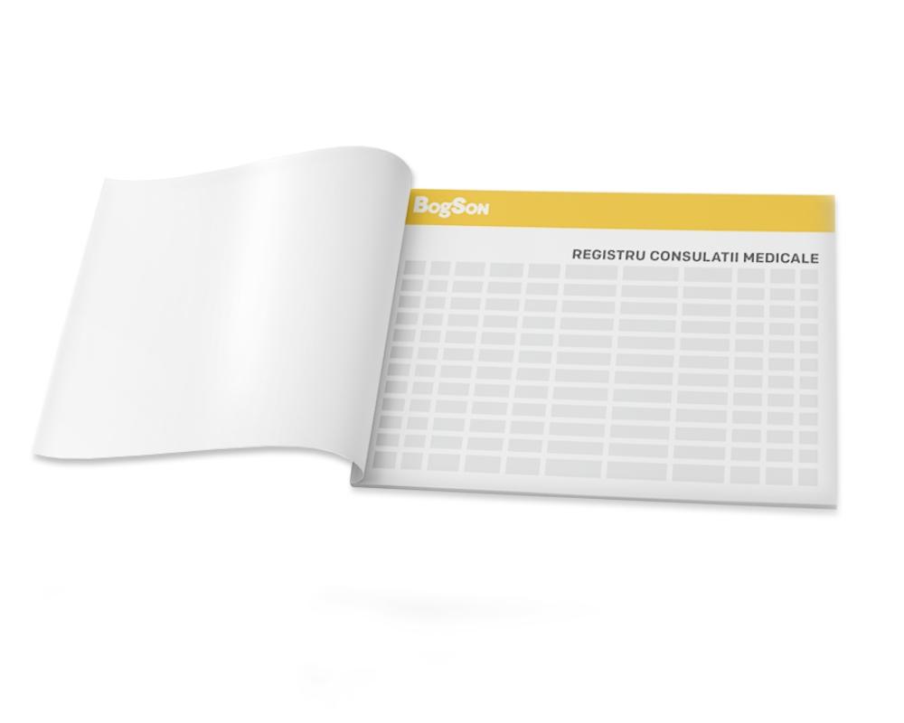 Registru consultații medicale