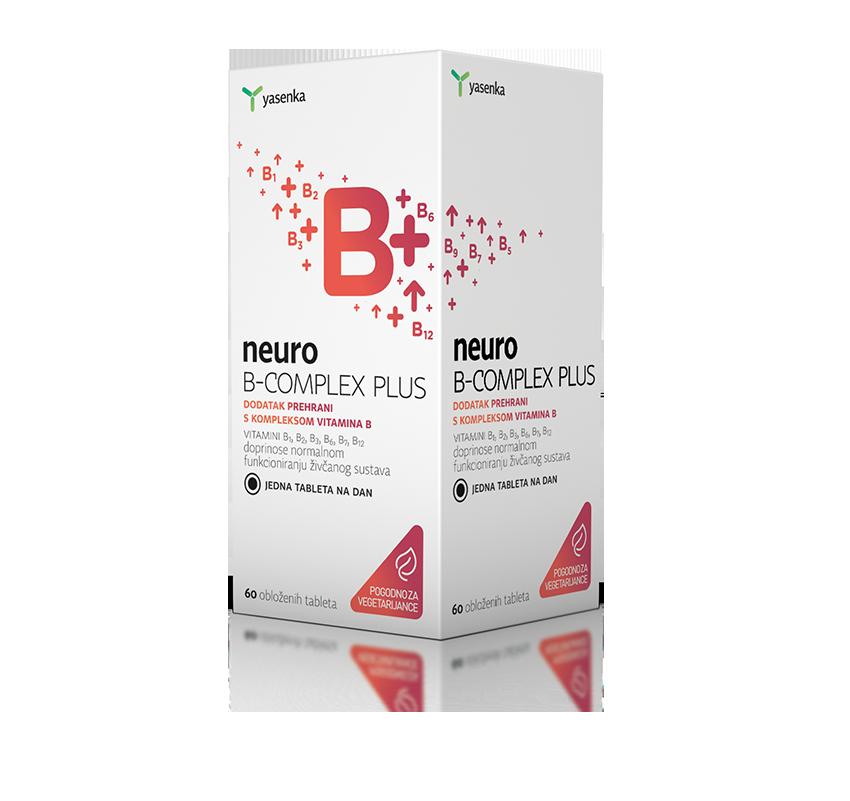 B Complex Plus, 60 comprimate