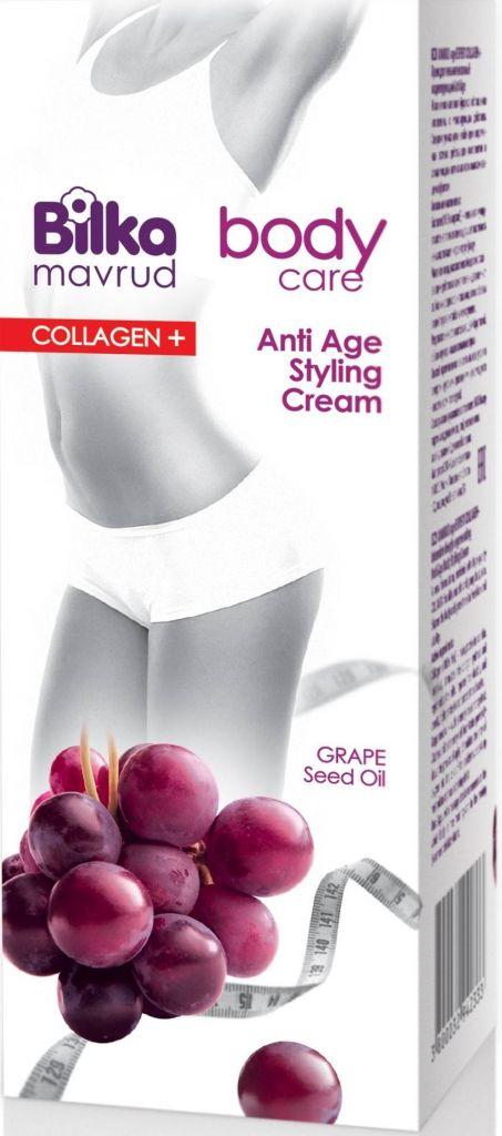 Crema Remodelare Anti-Age Colagen+ Cu Ulei din Seminte de Struguri 180 ML Bilka