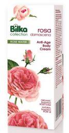 Crema de Corp cu Apa de Trandafir Rosa Damascena, 180ML