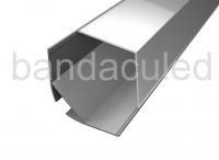 PROFIL AL PENTRU BANDA LED DE COLT 2M (pret pentru 2m)