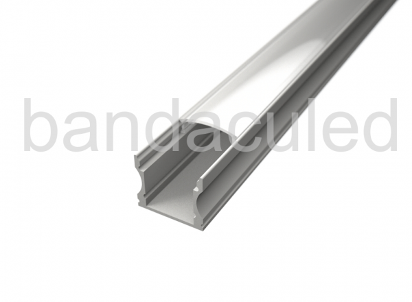 PROFIL BANDA LED ALB 2M LP102W