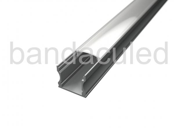 PROFIL BANDA LED ALUMINIU 2M (pret pentru 2m)