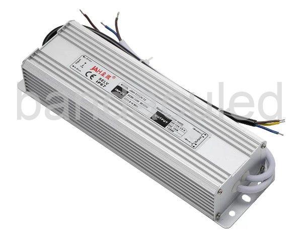 ALIMENTARE IMPERMEABILA PT CORPURI DE ILUMINAT CU LED IP67 200W, 16,67A, 12V,  235x126x57mm12V