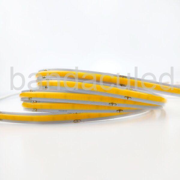BANDA LED COB 24V 528LED/M -4000K 80W/ROLA 7500LM IP44