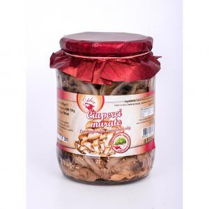 Ciuperci murate (cu ceapă şi cimbru) 720 ml