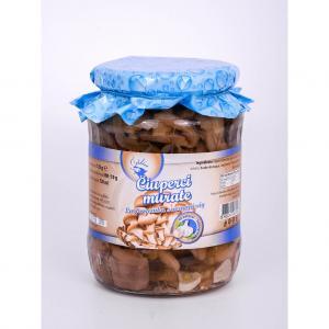 Ciuperci murate cu usturoi 720 ml