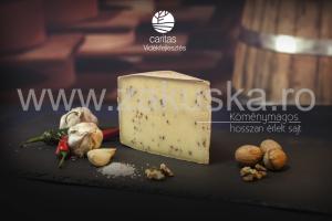 Brânză maturată cu chimen - Caritas Alba Iulia