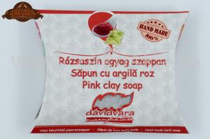 Săpun cu argilă roz