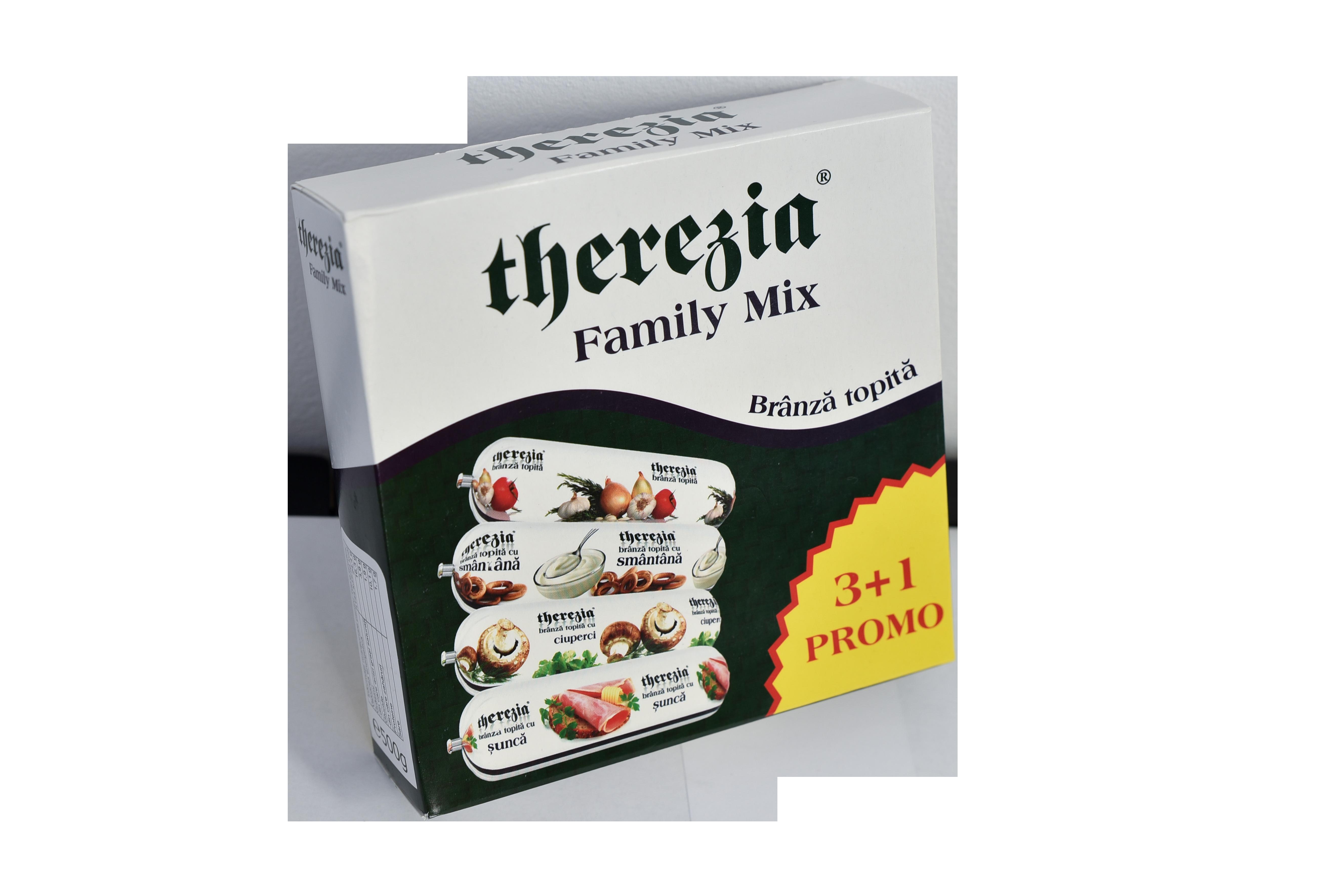 Therezia Branza Topita Family Mix 4x125g