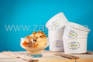 Înghețată artizanală de vanilie 400 g
