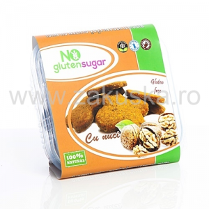 Biscuiți fără gluten cu nuci 150 g