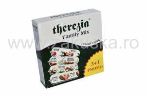 Brânză topită Family Mix - Therezia