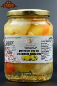Ardei rotunzi semi iuți 720 ml