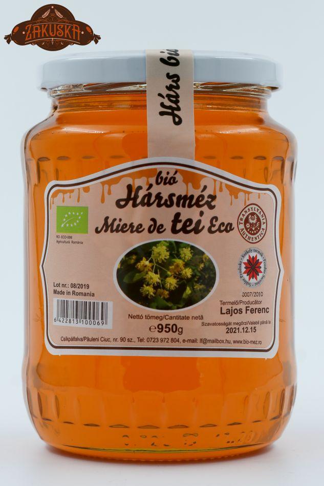 Mierea ecologică de tei 950 g