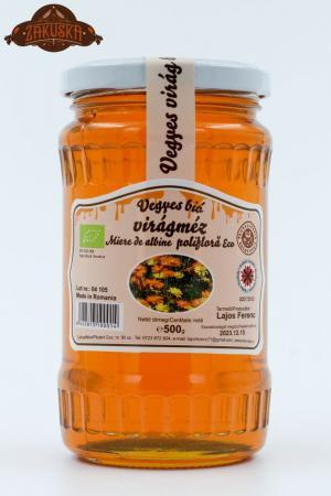 Miere ecologică polifloră 500 g