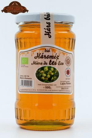 Mierea ecologică de tei 500 g