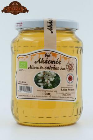 Mierea ecologică de salcâm 950 g