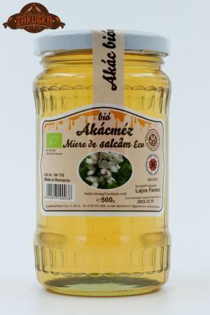 Mierea ecologică de salcâm 500 g