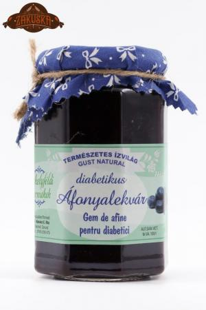 Gem de afine pentru diabetici 317 g