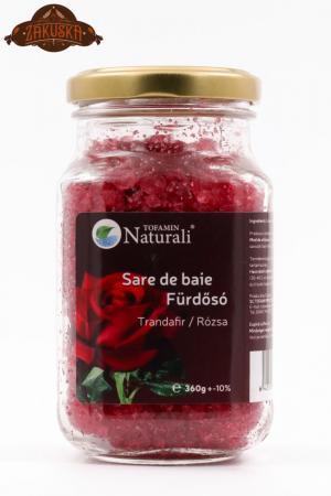 Sare de baie Trandafir 360 g