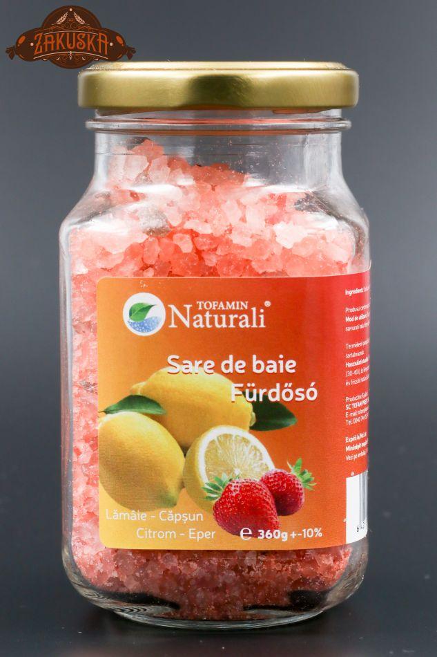 Sare de baie Lămâie - Căpșun 360 g