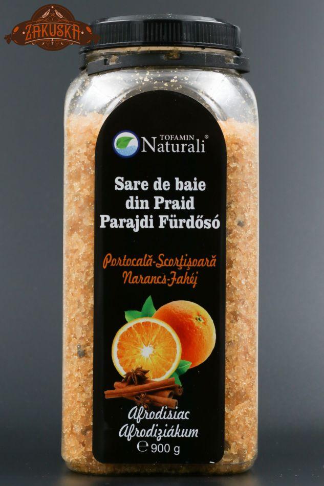 Sare de baie din Praid Portocală - Scorțișoară 900 g
