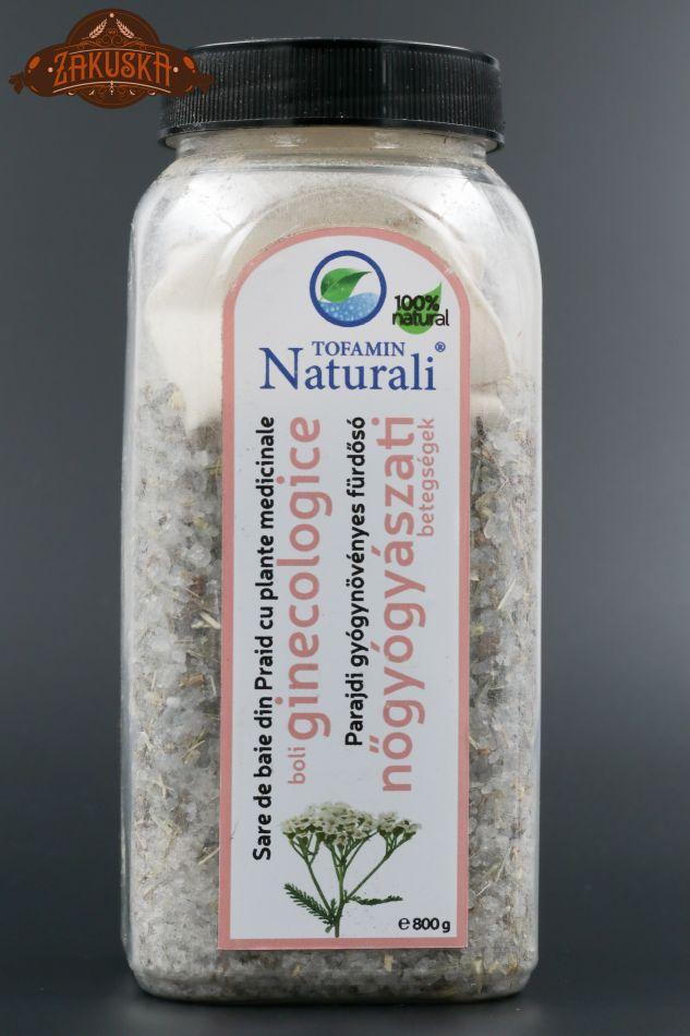 Sare de baie din Praid cu plante medicinale boli ginecologice 800 g