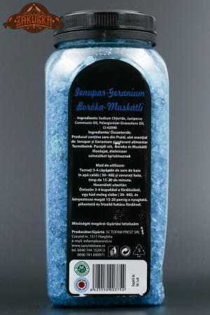 Sare de baie din Praid Ienupăr- Geranium 900 g