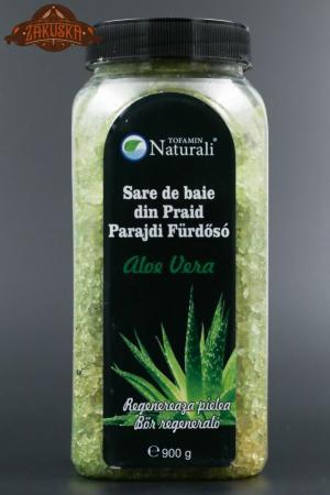Sare de baie din Praid Aloe Vera 900 g