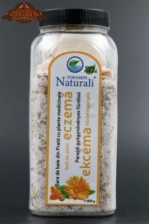 Sare de baie din Praid cu plante medicinale boli de piele eczemă 800 g