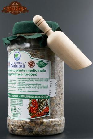Sare de baie cu plante medicinale intărirea sistemului imunitar 800 g