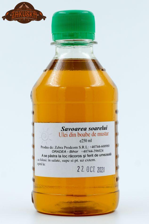 Ulei din boaba de muștar 250 ml