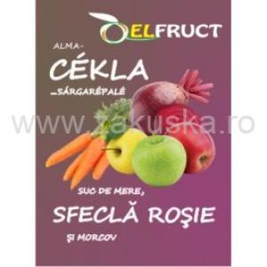 Suc de mere, sfeclă roşie şi morcov 3 L