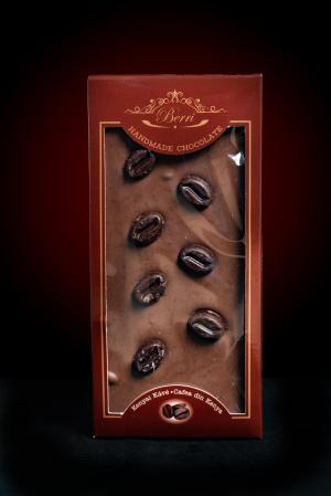 Ciocolată artizanală cu cafea 80 g
