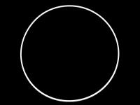 Cerc metalic pentru prinzător de vise, Ø25 cm