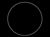 Cerc metalic pentru prinzător de vise, Ø30 cm