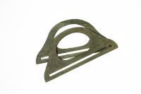 Mânere din lemn pentru geantă-verde