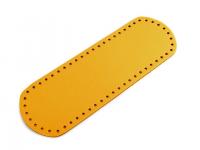 Fund geantă, 10x30 cm -galben