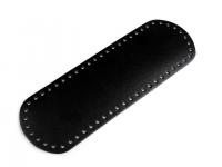 Fund geantă, 10x30 cm-negru