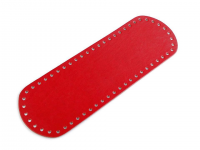 Fund geantă, 10x30 cm-roșu