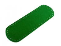 Fund geantă, 10x30 cm-verde