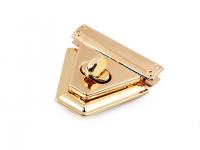 Închizătoare geantă, 47x50 mm auriu