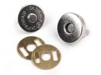 Închizatori / Capse magnetice, Ø15 mm -nichel