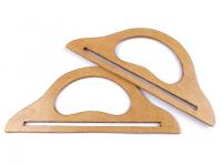 Mânere din lemn pentru geantă
