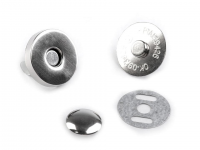 Închizatori / Capse magnetice cu nit, Ø18 mm