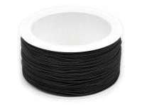 Elastic rotund, R1,2 mm negru