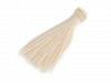 Păr / Perucă pentru păpuși, 15 cm-blond