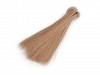 Păr / Perucă pentru păpuși, 15 cm-blond inchis