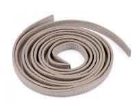 Curea pentru mânere / toarte geantă-argintiu